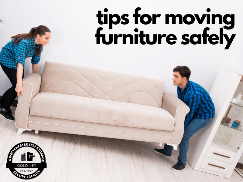 tips for moving furniture Croton Self Storage