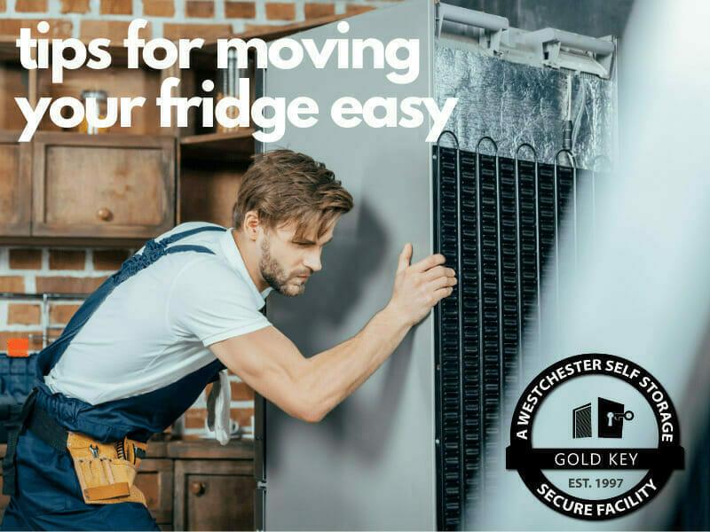tips f or moving your fridge Croton Self Storage