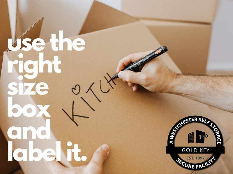 Storage Tips Croton Use The Right Sized Box